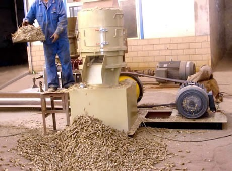 Wood Sawdust Pellet Mill