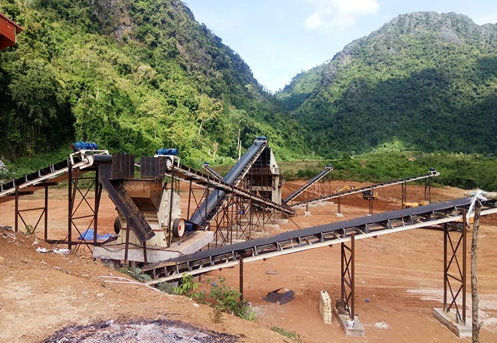 River Gravel Crushing Plant