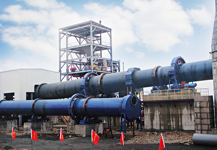 Rotary Fly Ash Dryer in Cement Plant-Fote Machinery(FTM)