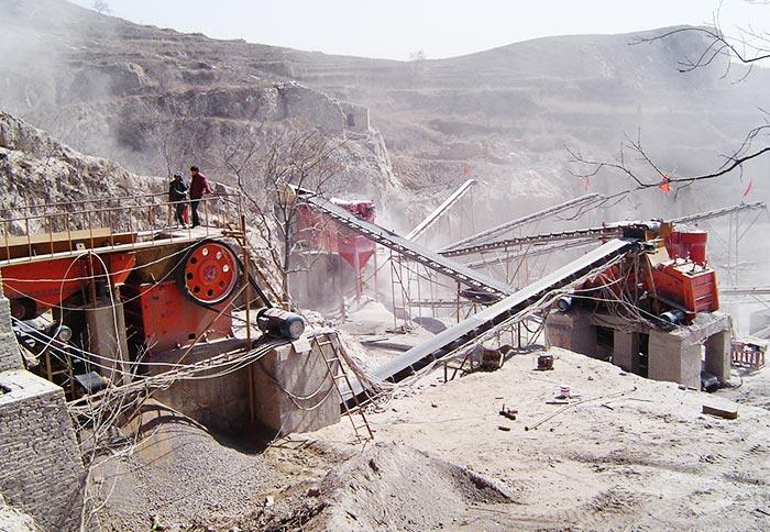 Basalt Crushing Plant