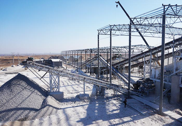 500t/h Large Limestone Production Line