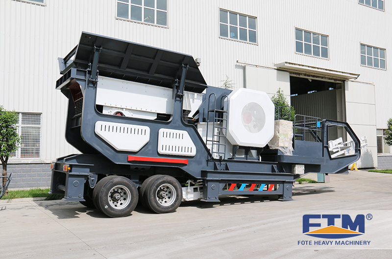 a new type of mobile crusher