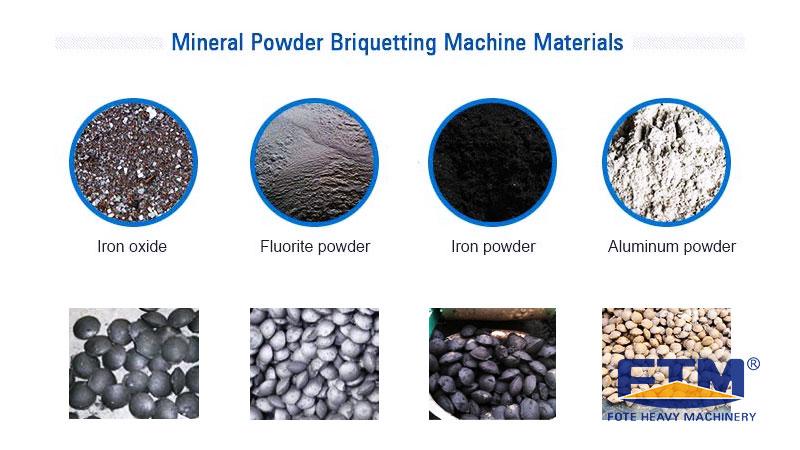 Mineral Powder Briquetting Machine Materials.jpg