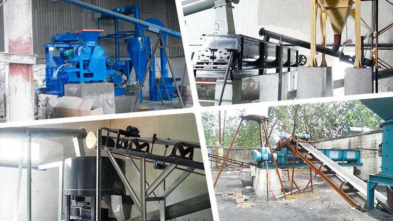 Pulverized Coal Briquetting Machine Site.jpg