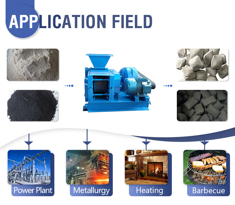 Pulverized Coal Briquetting Machine Application.jpg