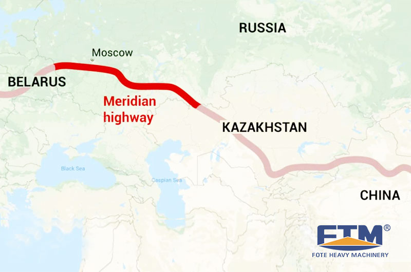 Russia Approves Shortest' Europe-China Highway-Reports(via The Moscow Times)