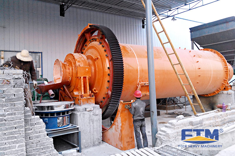 Fote Ball Mill Customer Site.jpg