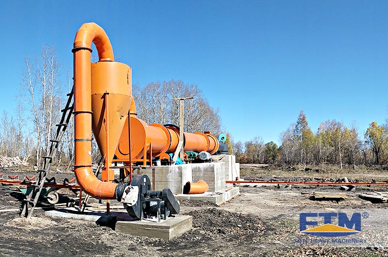Fote Rotary Dryer Customer Site.jpg