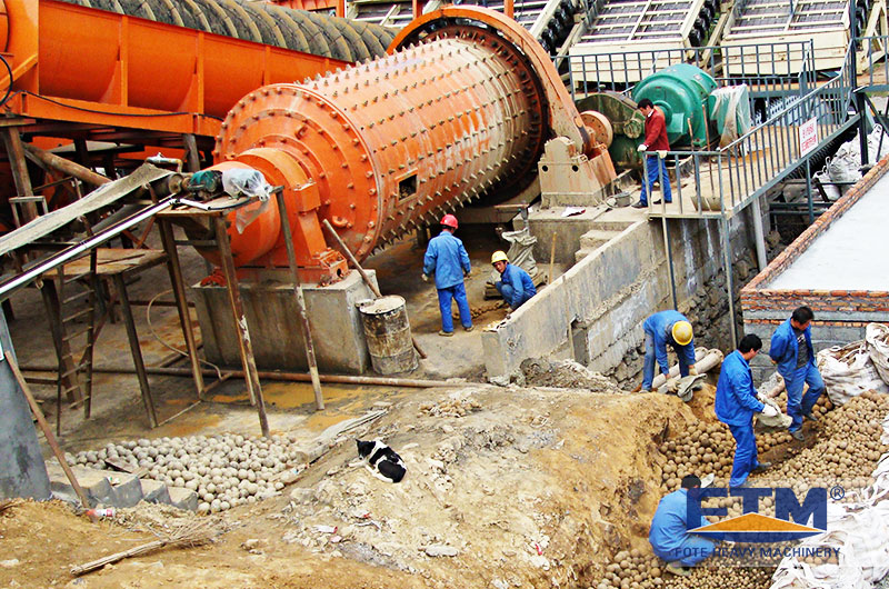Fote Ball Mill at Customer Site.jpg