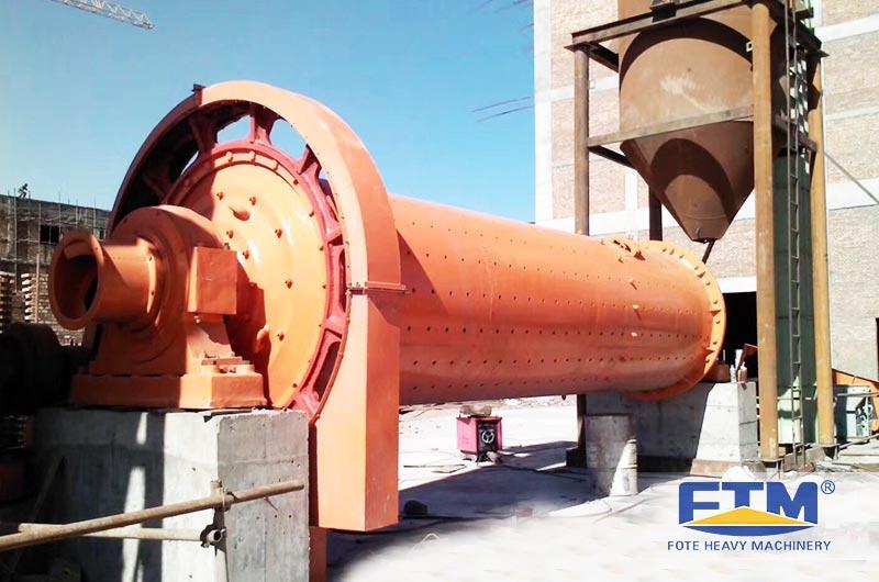 Fote Bauxite Ball Mill Customer Site.jpg