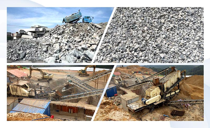 Indonesia Construction Waste Mobile Crushing Plant Site.jpg