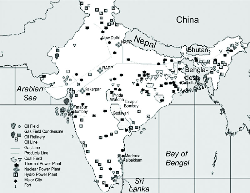 Coal Deposits in India Map.jpg