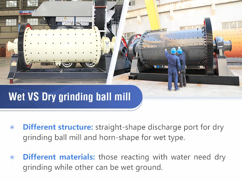 Difference of wet grinding ball mill and dry grinding ball mill.jpg