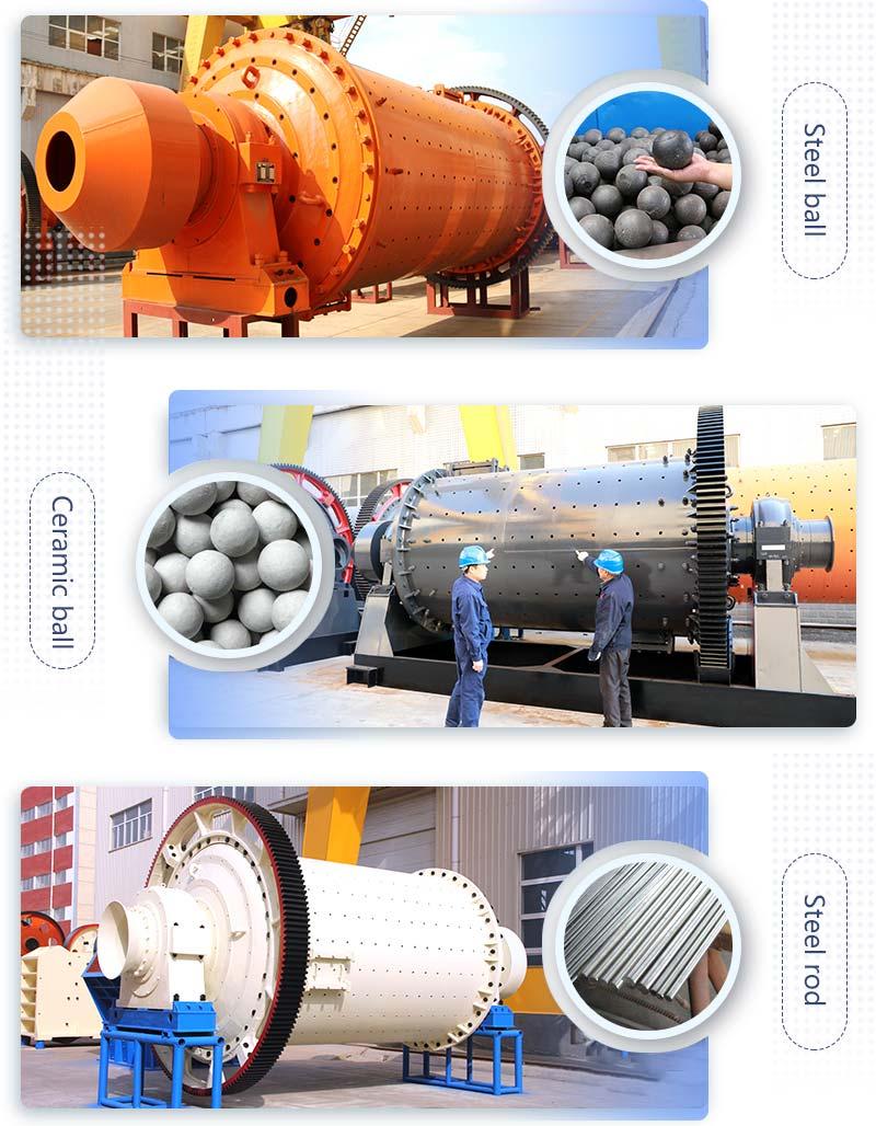 Ball mills of different grinding media.jpg