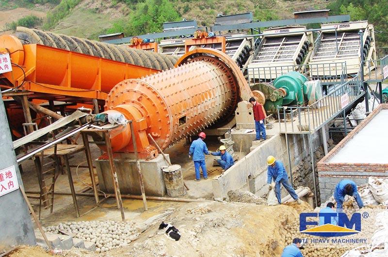 Copper ore ball mill site.jpg