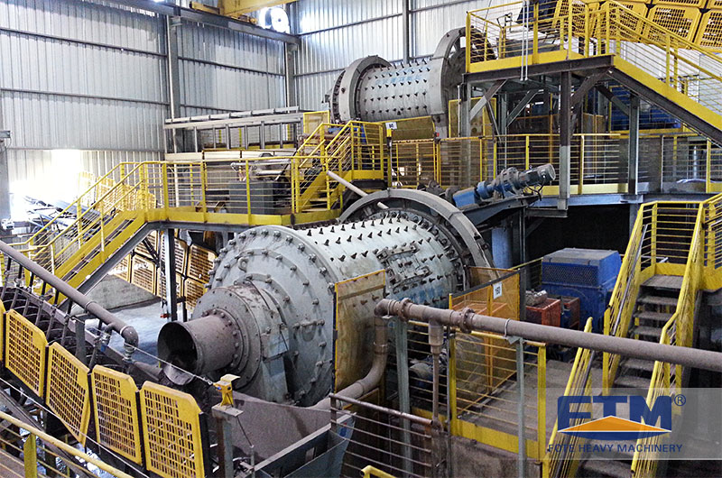chrome ore ball mill customer site.jpg