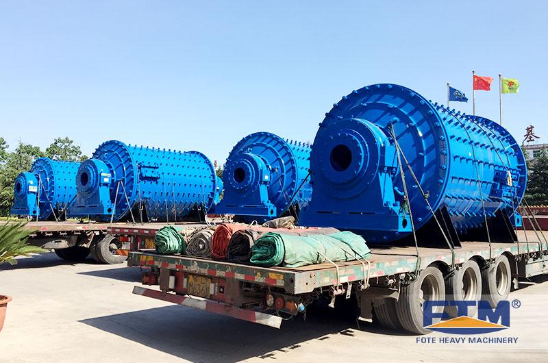 Fote ceramic ball mill shipment.jpg