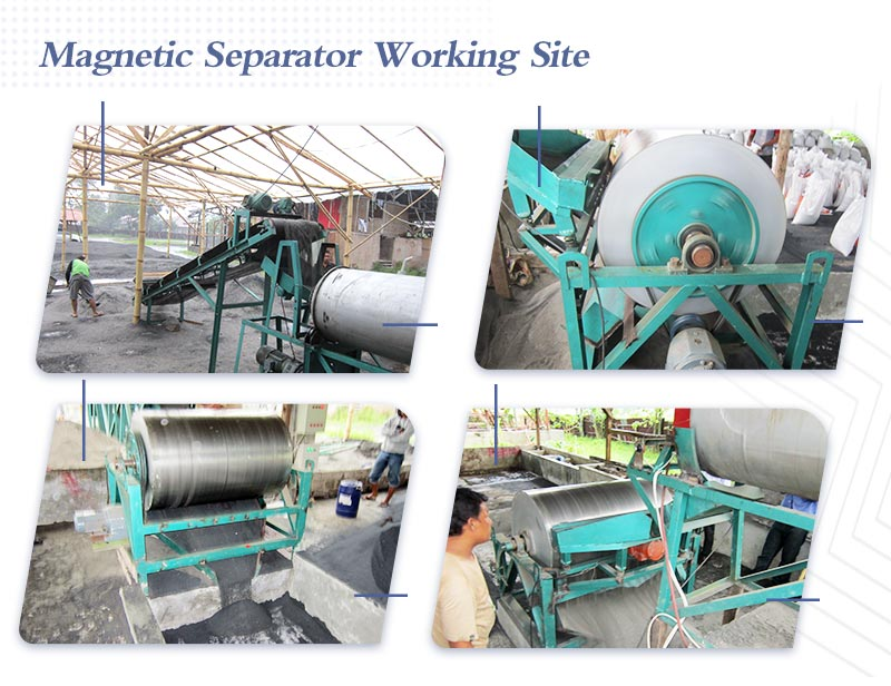 Working site of magnetic separation.jpg