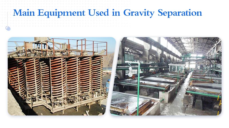 Main equipment used in Gravity separation.jpg