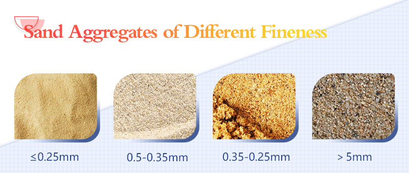 Different fineness of sand aggregates.jpg