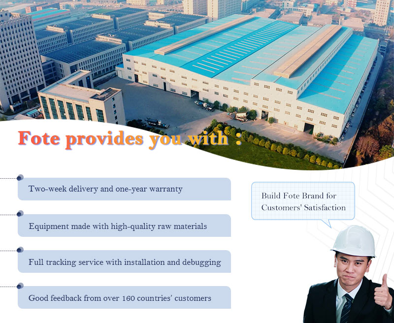 Fote service provided to customer