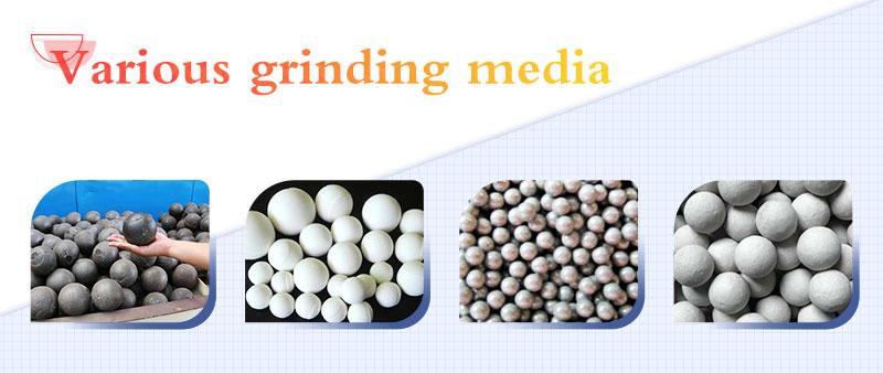 Ball mill grinding media made of different materials.jpg