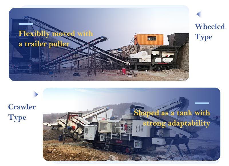 Advantages of Two Types of Fote Mobile Crushers.jpg