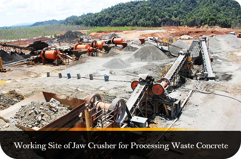 Working Site of Fote Jaw Crusher.jpg