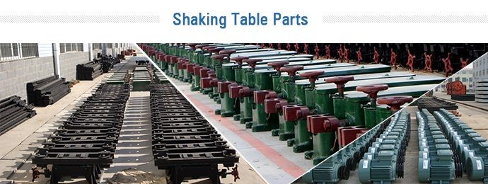 shaking table parts