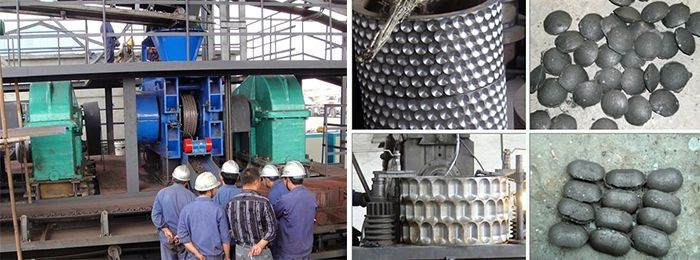 Pulverized Coal Briquetting Machine