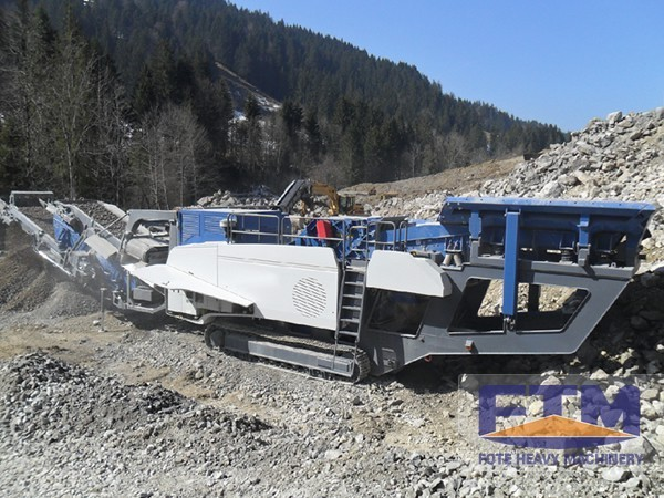 What are the Application Fields of Crawler Mobile Crusher?