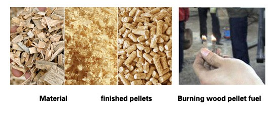 wood sawdust pellets