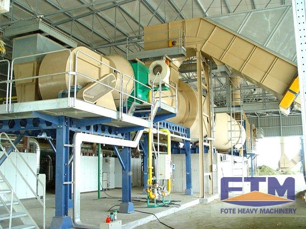 The Application Areas of Rotary Dryer