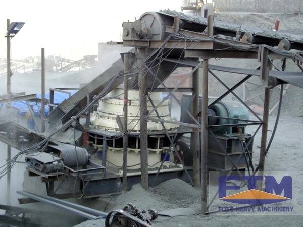 Crusher Plant for Limestone