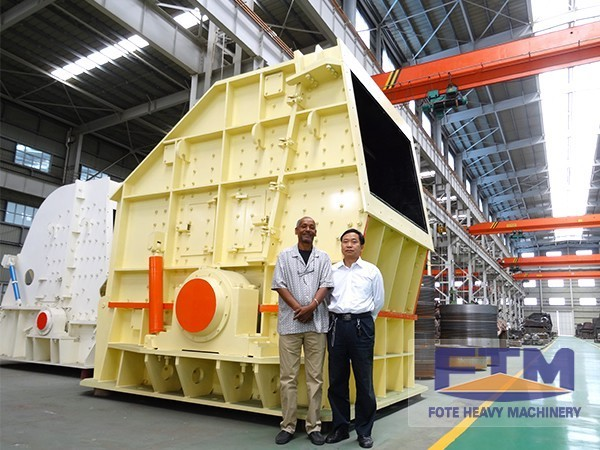PF Impact Crusher Is the Necessary Equipment of Large Aggregate Production Line