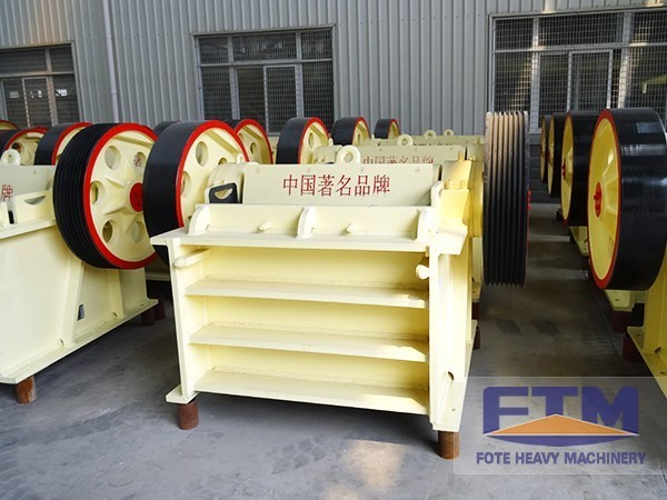 PEX Jaw Crusher Refreshes a New Achievement of Crushing