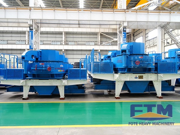 FTM Sand Making Machines Are Honored as the Star Products