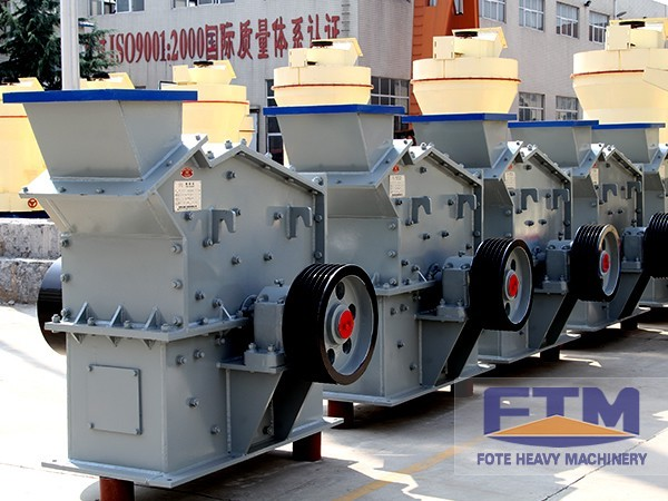 FTM Impact Tertiary Crusher Is the First Choice for Shale Crushing