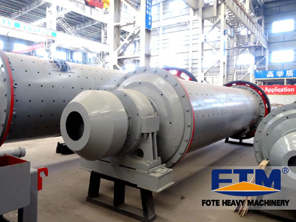 Workshop of Small Ball Mill