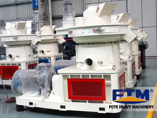 Biomass pellet mill production plant