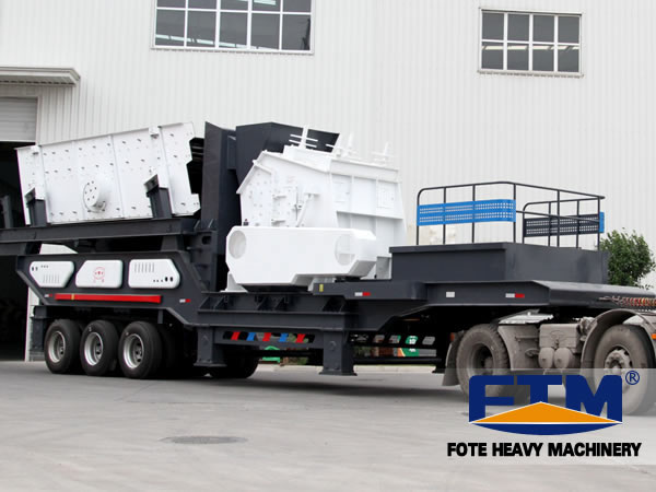 The Analysis for the Advantages of Mobile Crushing Plant