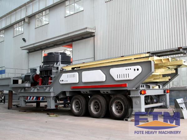 Mobile Cone Crusher workshop