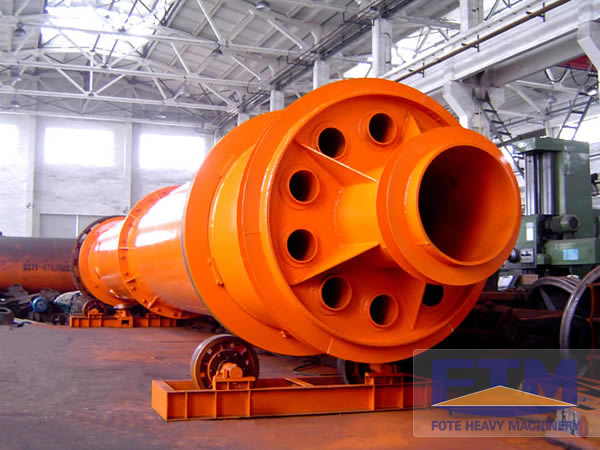 indirect heat transfer rotary dryer