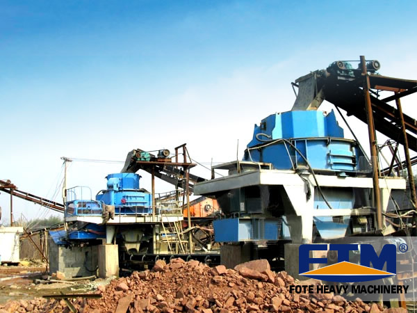 River Pebble Sand Production Line in Qatar