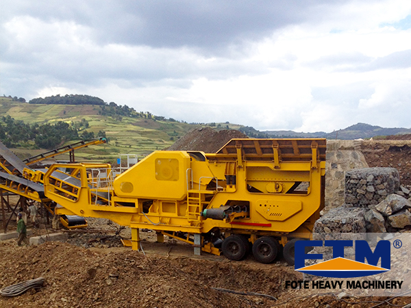 Preferred Equipment for Construction Waste Disposal ------Mobile Crusher