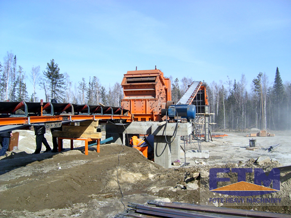 Applications of Crushing Production Line in Expressway Construction