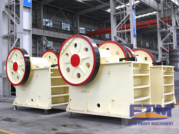 Limestone jaw crusher
